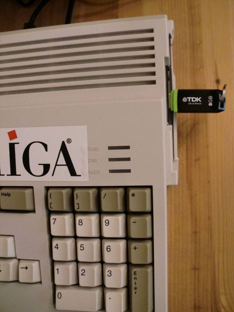 Amiga: Having a go at Gotek