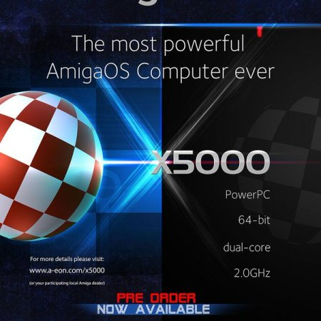 Advertisement for the AmigaOne X5000