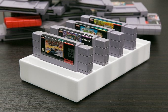 Incroyable BitLounger: Retro Video Game Storage Solution U2013 Kickstarter U2013 Old School  Game Blog
