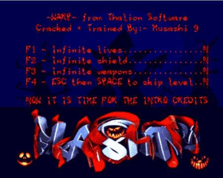 Halloween Cracktro by Flashtro (Amiga)