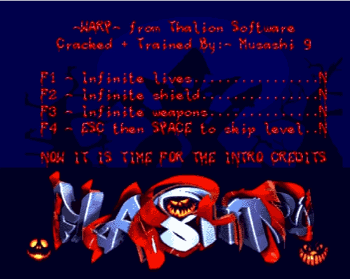 Halloween Cracktro by Flashtro (Amiga)