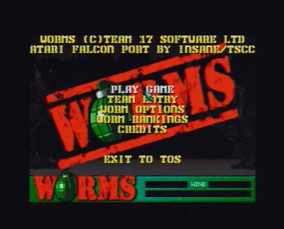 worms-atari-falcon-intro-menu-screen – Old School Game Blog
