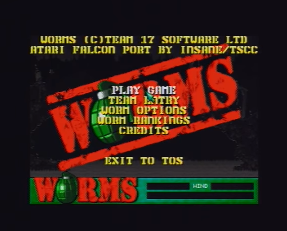 worms-atari-falcon-intro-menu-screen