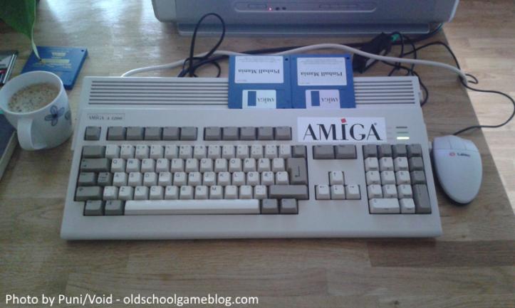 My Amiga 1200.