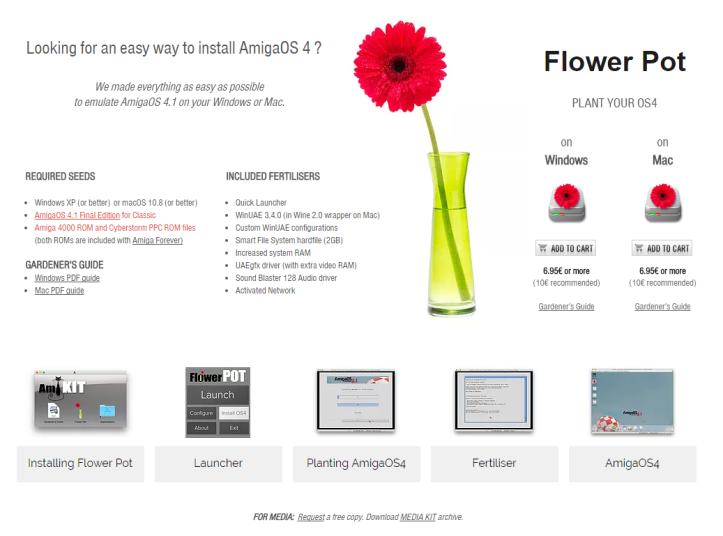 flower pot amigaos 4 – Old School Game Blog