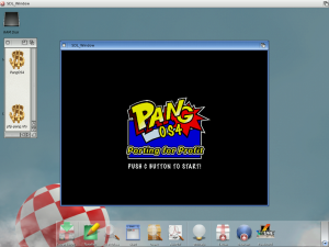 Opening screen on AmigaOS 4.1